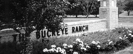 Buckeye Ranch entrance sign